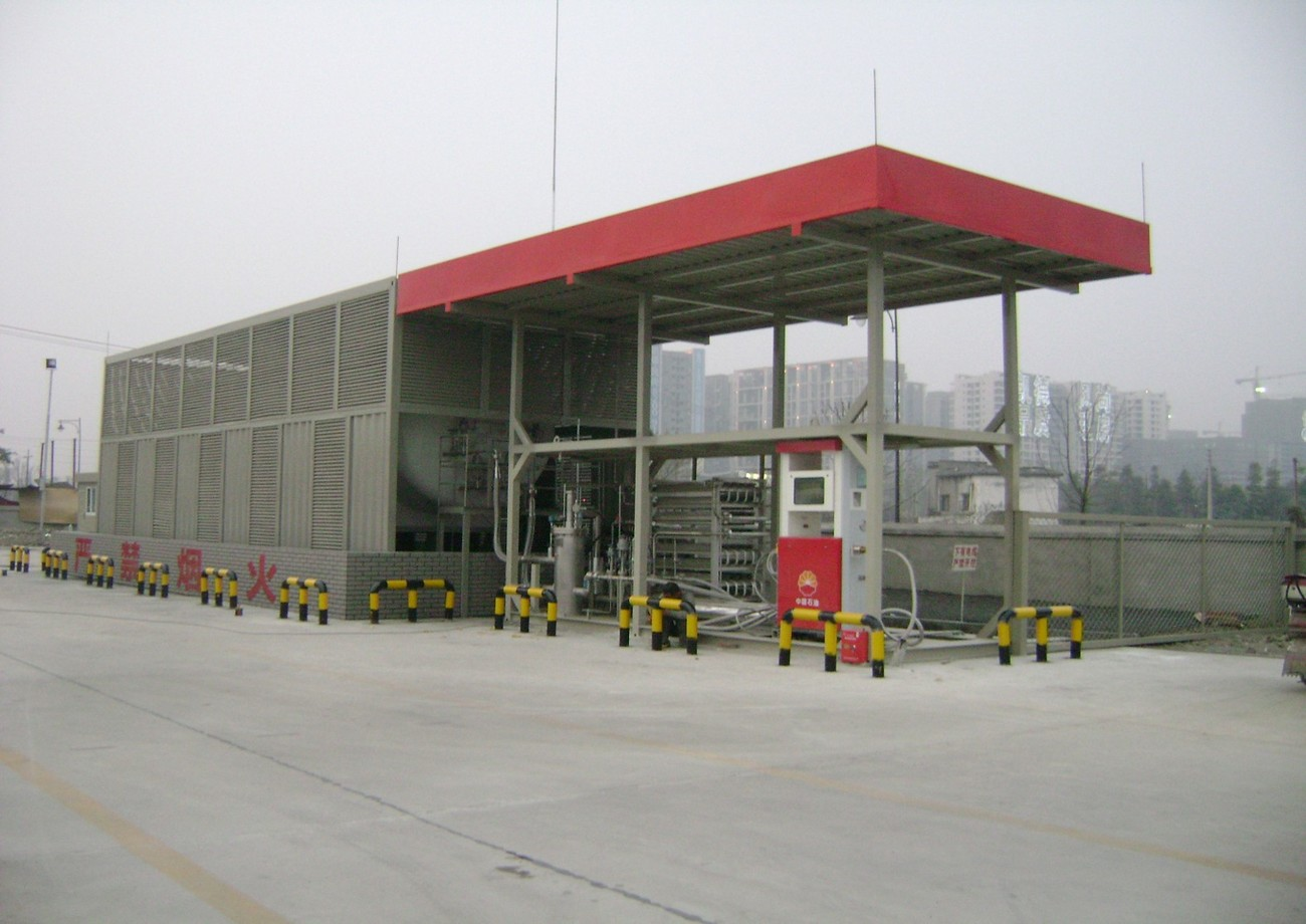 成都万家湾LNG加气站