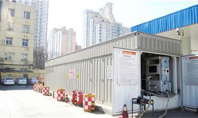 北京左安路LNG加气站