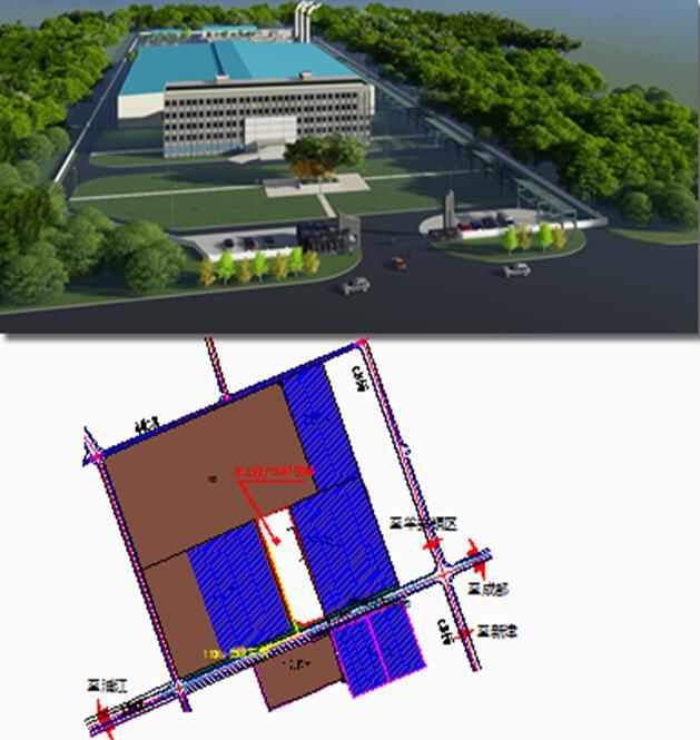 邛崃羊安工业园区天然气分布式项目