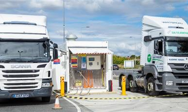 出口英国伦敦LNG无人值守加注设备