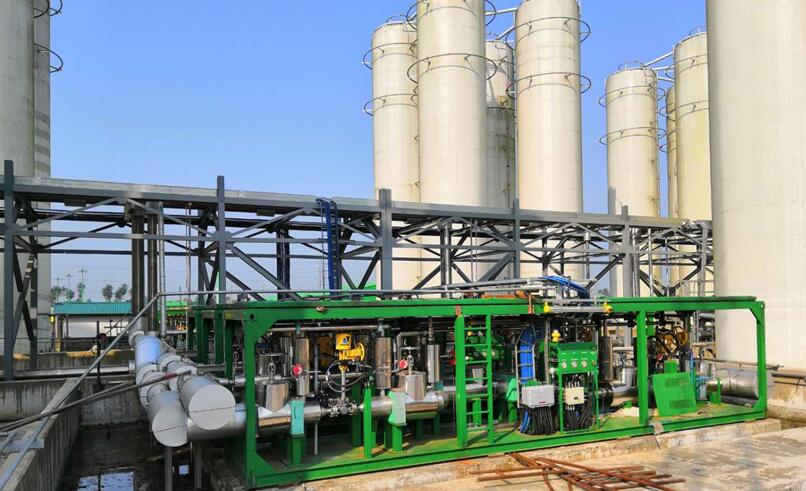 LNG全撬装气化设备出口尼日利亚,进入非洲市场