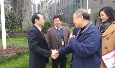 热烈欢迎上海交通大学教授、浙商银行、青岛安工院到访厚普股份