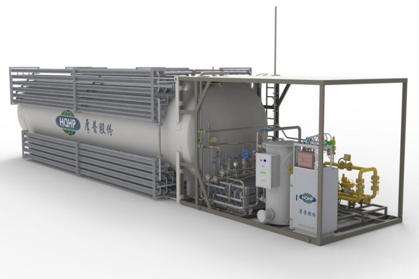 LNG Gas Supply Skid (Fully skid)