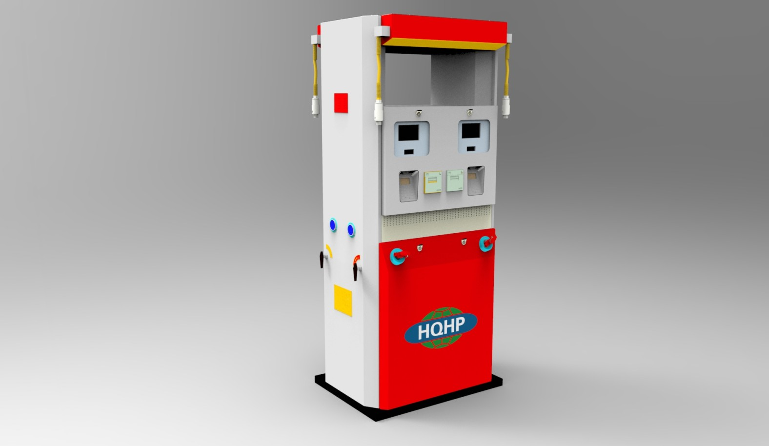 CNG Universal Intelligent Gas Dispenser